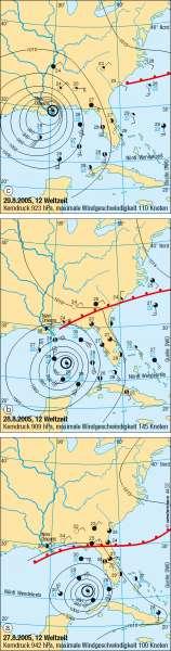 Hurrikan Katrina |  | USA/Kanada – physisch | Karte 155/2