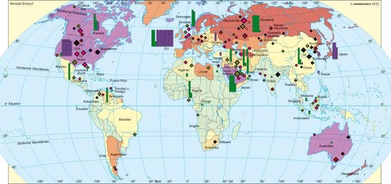 Energierohstoffe/Energieverbrauch |  | Erde – Rohstoffe | Karte 183/1