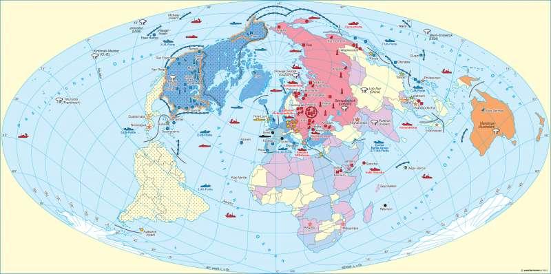Kalter Krieg Karte.Diercke Weltatlas Kartenansicht Das Zeitalter Des Kalten Krieges