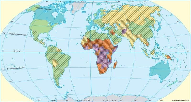 Lebenserwartung und Säuglingssterblichkeit |  | Erde - Bevölkerung | Karte 31/3