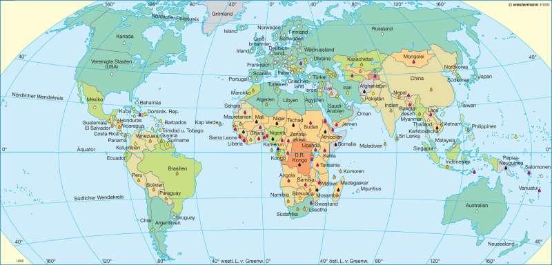 Ernährung |  | Erde - Entwicklungsstand | Karte 32/2