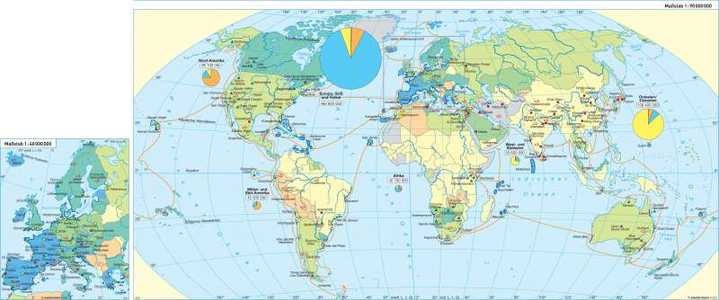 Erde   Tourismus   Erde - Tourismus   Karte 36/1