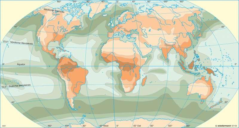 Pflanzliche Primärproduktion |  | Erde - Weltmeere | Karte 40/2