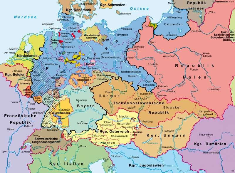 weimarer republik karte Diercke Weltatlas   Kartenansicht   Weimarer Republik 1932     978
