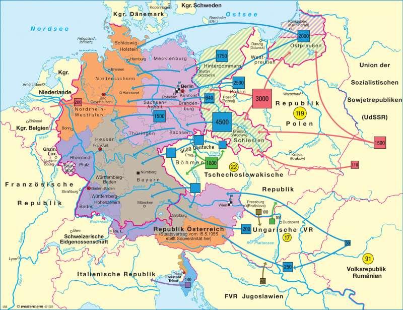 2 Weltkrieg Karte.Diercke Weltatlas Kartenansicht Besatzungsmachte 1945