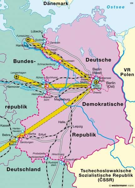 West Berlin Karte.How West Berlin Appeared On A 1988 East German Map Mapporn