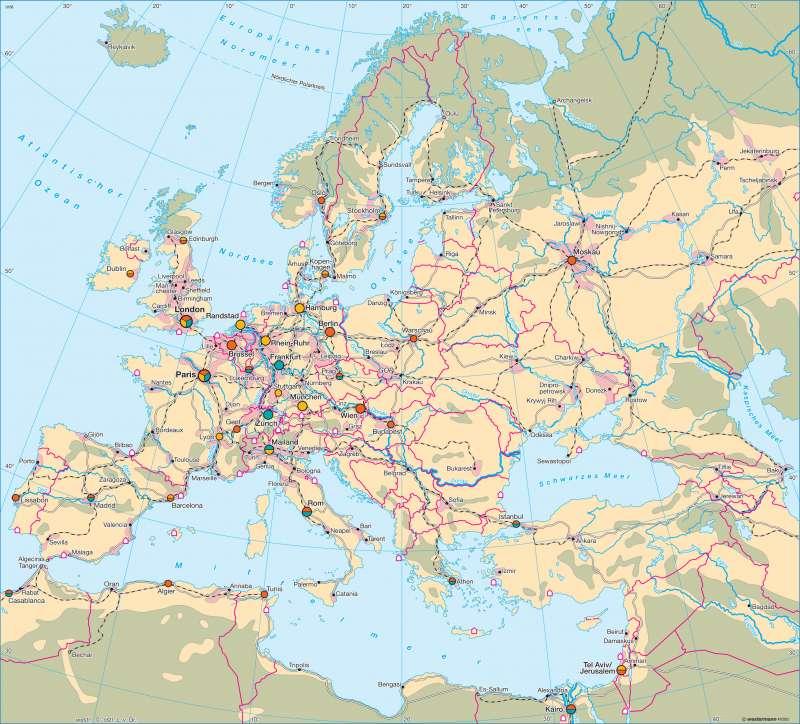 Europa | Wirtschaft | Europa - Wirtschaft und Energie | Karte 102/1