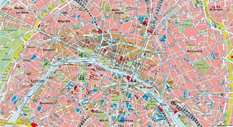 Paris      London und Paris - Global Cities   Karte 111/4