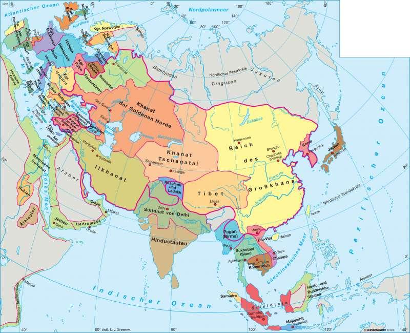 Asien Länder Karte.25 Schon Karte Asien Staaten