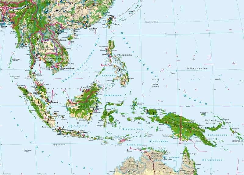 Südostasien   Wirtschaft   Südostasien - Wirtschaft   Karte 148/1