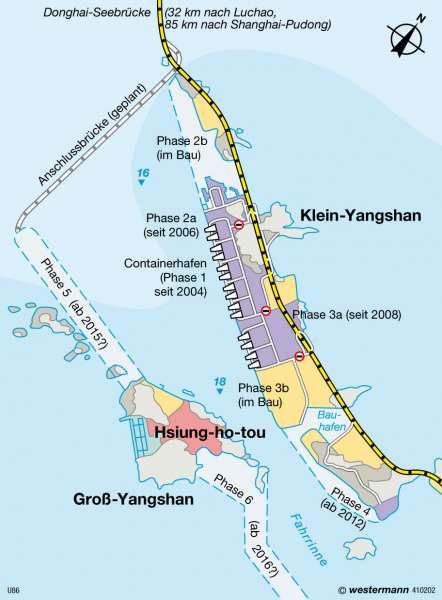 Tiefwasserhafen Yangshan |  | China | Karte 156/2