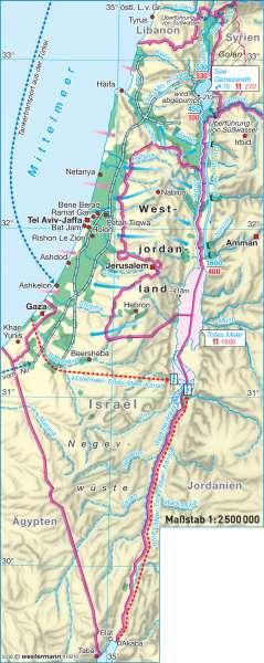 Lebensgrundlage Wasser |  | Israel / Weltreligionen | Karte 162/2