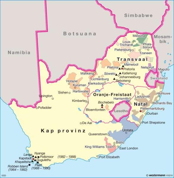 Südafrika Karte.Diercke Weltatlas Kartenansicht Südafrika Erbe Der Apartheid