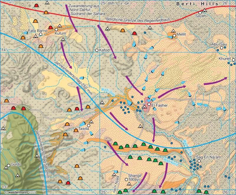 Diercke Weltatlas - Kartenansicht - El Fasher (Sudan ...
