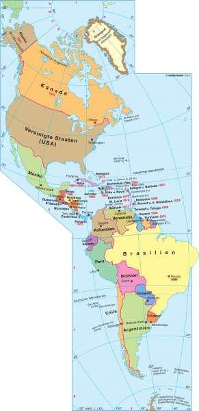 Diercke Weltatlas Kartenansicht Amerika Politische Ubersicht