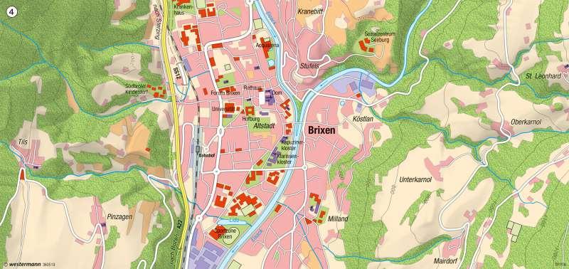 Brixen |  | Vom großen zum kleinen Maßstab – Brixen | Karte 11/4