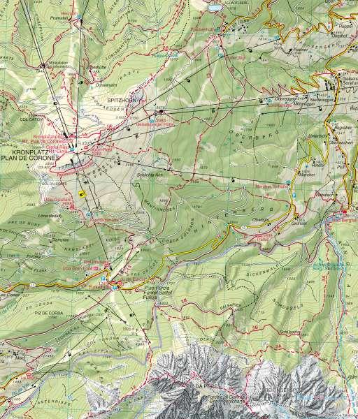 Kronplatz   Wanderkarte   Wanderkarte – Kronplatz   Karte 13/3