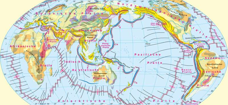 Geotektonik |  | Erdgeschichte/Tektonik/Vulkanismus | Karte 170/2