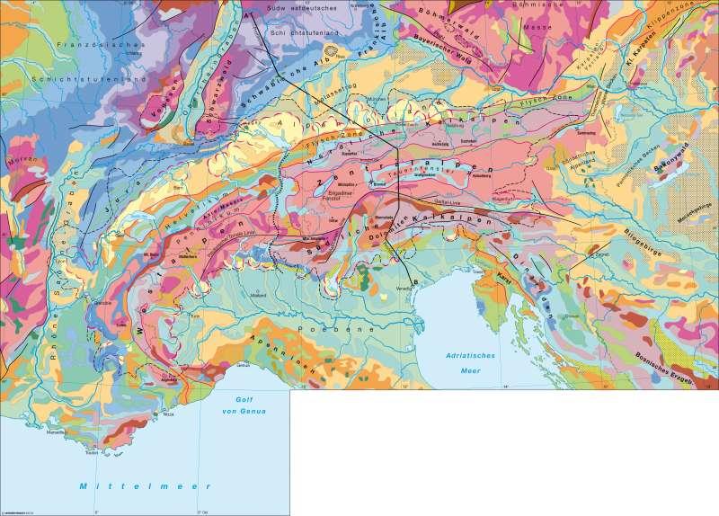 Nordfranzösisches Becken diercke weltatlas kartenansicht geologie 978 3 14 100782 4