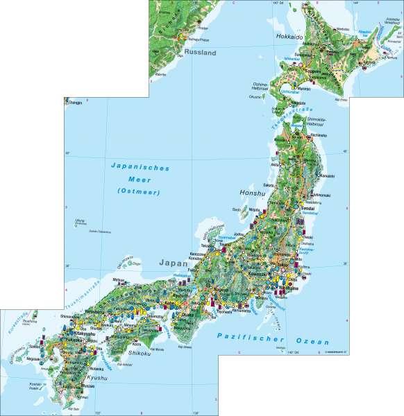 Japan | Wirtschaft | Japan – Wirtschaft | Karte 117/4
