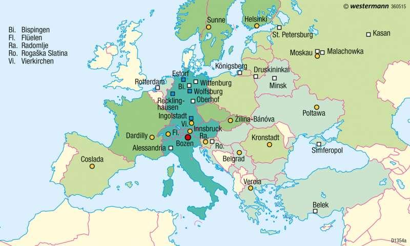 Global Player | Beschneiungsanlagen (TechnoAlpin) | Südtirol – Wintertourismus | Karte 27/3