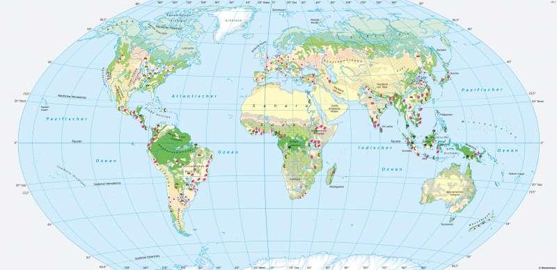 Erde | Landschaften | Erde - Landschaften | Karte 176/1