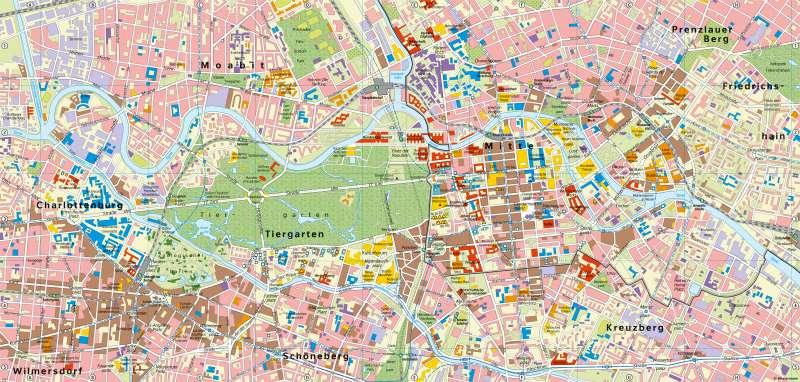 Berlin | Bundeshauptstadt | Berlin - Bundeshauptstadt | Karte 50/1