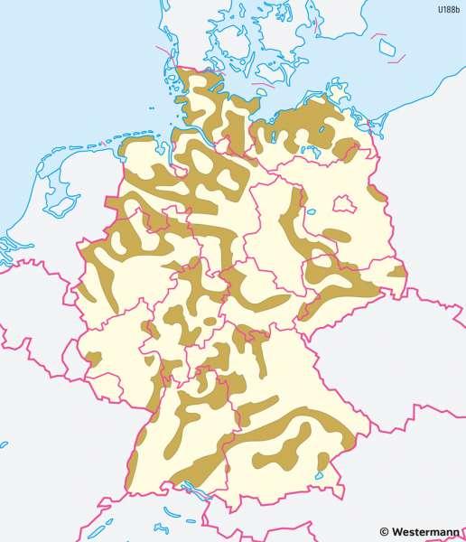 Deutschland | Bodenqualität | Deutschland - Landwirtschaft | Karte 41/2