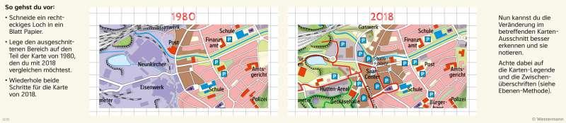 | Den Wandel von Räumen mit der Fenstermethode untersuchen | Neunkirchen (Saar) - Räume im Wandel | Karte 24/3