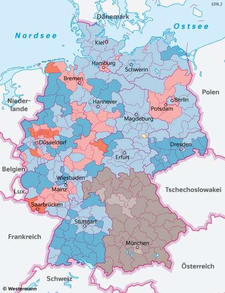 DeutscheDemokratischeRepublik(DDR)   Auflösung durch freie Wahlen   Geschichte - Europa nach dem Kalten Krieg   Karte 220/3