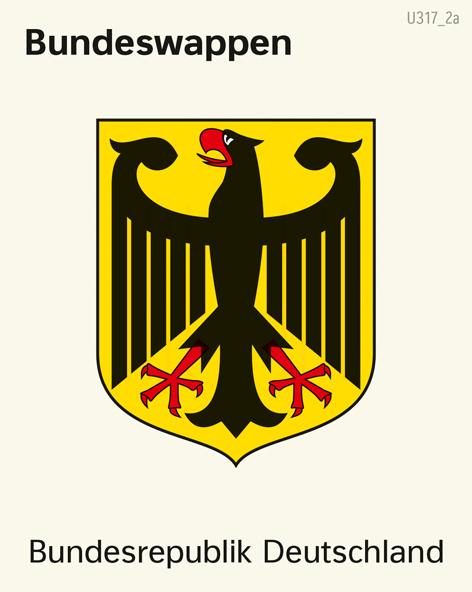 Deutschland | Bundeswappen | Deutschland - Bundesländer | Karte 30/1
