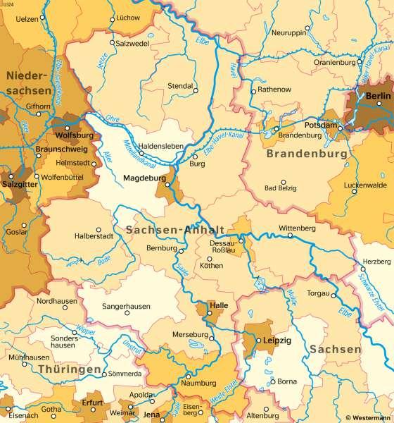 Sachsen-Anhalt | AusländischeBevölkerung | Sachsen-Anhalt - Verwaltung und Bevölkerung | Karte 29/5