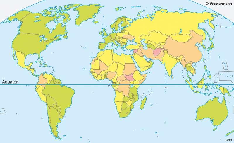 Erde | Flüchtlinge | Erde - Kultur und Migration | Karte 183/3
