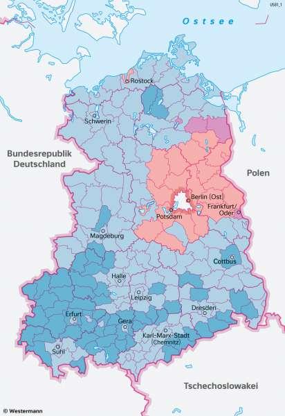 DeutscheDemokratischeRepublik(DDR) | Auflösung durch freie Wahlen | Geschichte - Europa nach dem Kalten Krieg | Karte 220/3