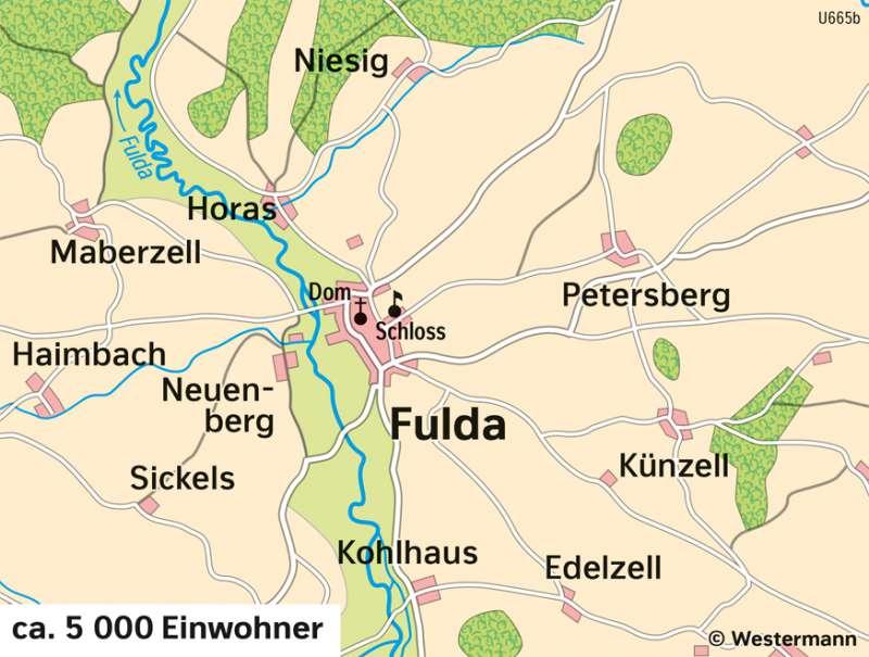 Fulda | Stadtentwicklung | Fulda - Räume im Wandel | Karte 25/4