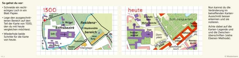 Fulda   Den Wandel von Räumen mit der Fenstermethode untersuchen   Fulda - Räume im Wandel   Karte 24/3