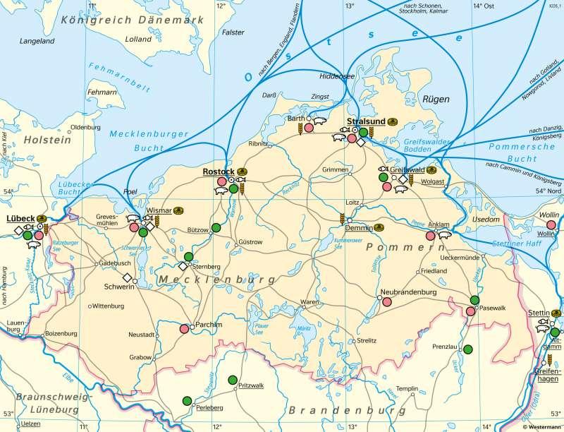 Diercke Weltatlas Kartenansicht Mecklenburg Vorpommern Die