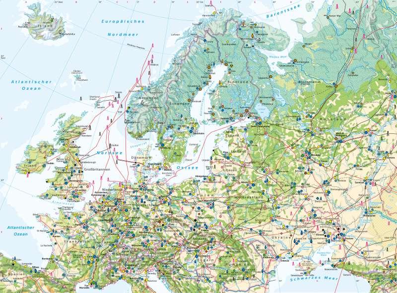 Nordeuropa | Wirtschaft | Nordeuropa - Wirtschaft | Karte 80/1