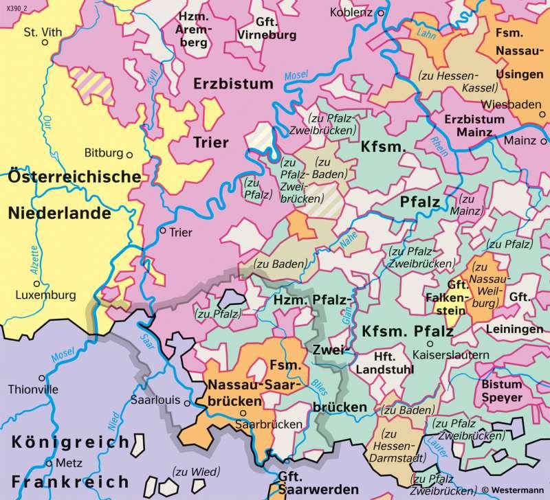 Karte Kassel Und Umgebung.Diercke Weltatlas Kartenansicht Saarland Und Umgebung