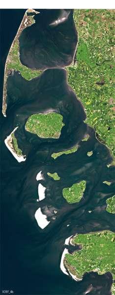 Nordfriesland | Gezeiten | Deutschland - Tourismus und Naturschutz | Karte 53/2
