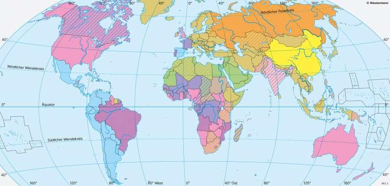 Erde | Amtssprachen | Erde - Kultur und Migration | Karte 182/2