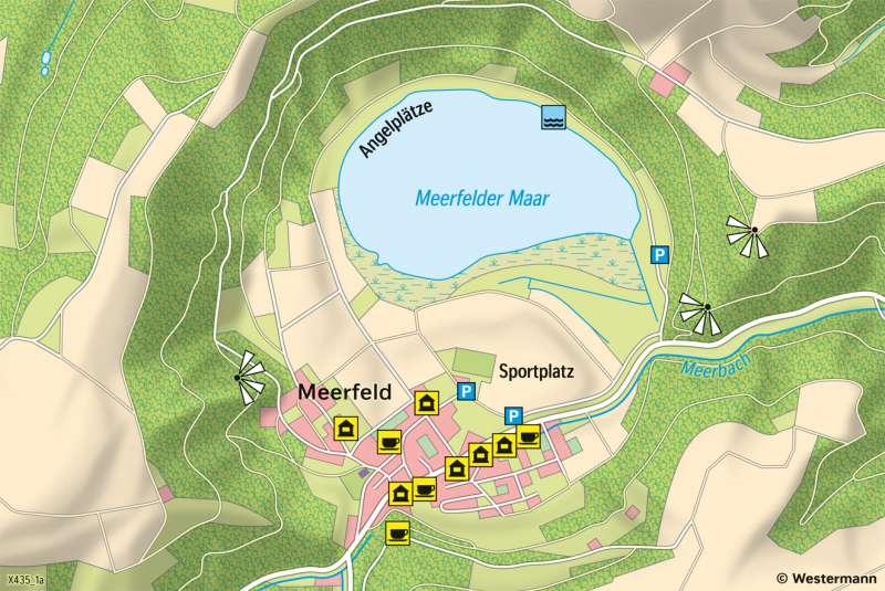 MeerfelderMaar | Kartendarstellung | MeerfelderMaar - Vom Bild zur Karte | Karte 6/3
