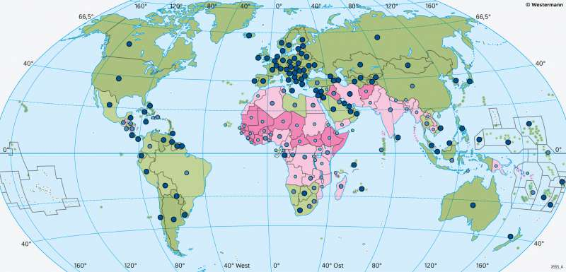 Erde | Bildung | Erde - Lebensbedingungen | Karte 181/4