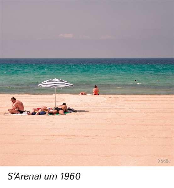 | S'Arenal um 1960 | Europa - Tourismus | Karte 85/3