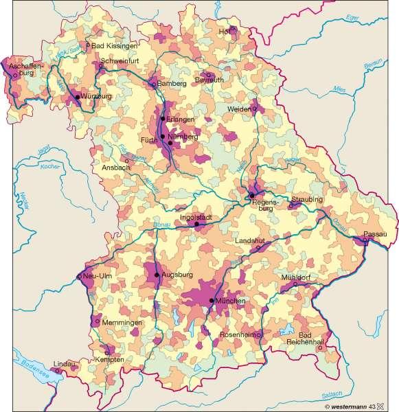 Bevölkerungsdichte 2005 |  | Bevölkerungsdichte | Karte 11/2