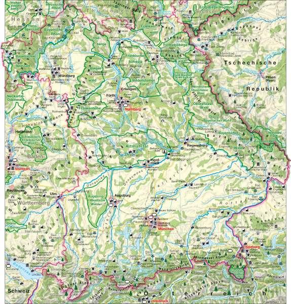 Tourismus |  | Tourismus | Karte 12/1