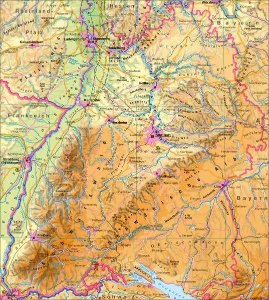 Diercke Weltatlas Kartenansicht Landschaften Physische Ubersicht 978 3 14 100752 7 3 1 0