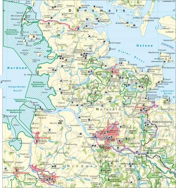 Tourismus      Tourismus   Karte 11/1