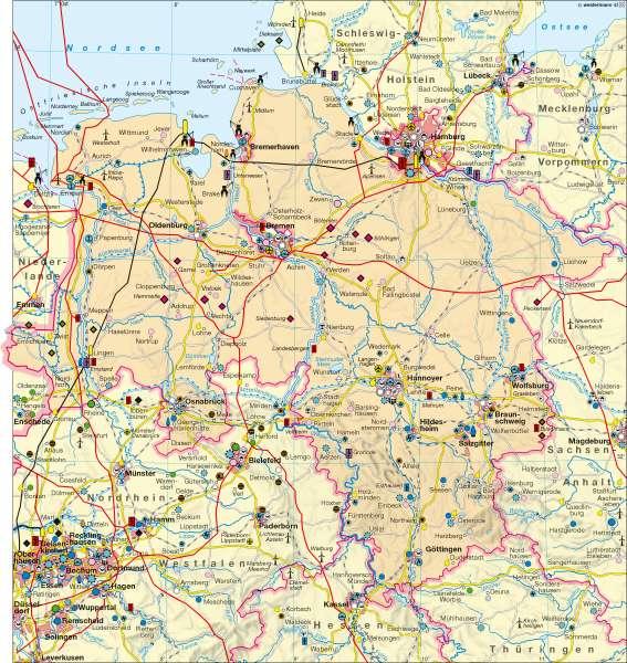 Diercke Weltatlas - Kartenansicht - Wirtschaft - - 978-3 ...