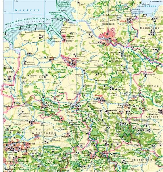 Tourismus      Tourismus   Karte 14/1